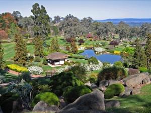 オーストラリア・カウラの日本庭園